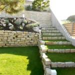 Schubert & Partner Gartengestaltung | Natursteintreppe